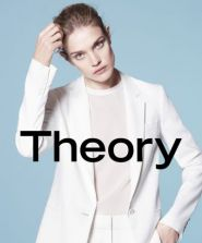 THEORY SS15 AD CAMPAIGN -  A HISTORIC MOMENT WITH A DEBUT OF A NEW LOGO FEATURING NATALIA VODIANOVA AND CLEMENT CHABERNAUD