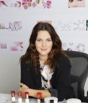 DREW BARRYMORE LAUNCHING COLOR COSMETIC LINE