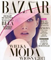 MALGOSIA BELA FOR THE FIRST ISSUE OF HARPER'S BAZAAR POLAND!