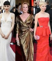 OSCAR ACADEMY AWARDS 2012 – CELEBRITIES ON THE RED CARPET