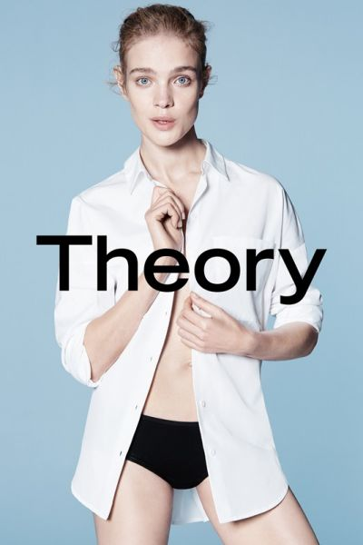 1. Natalia Vodianova in the Theory new ad campaign