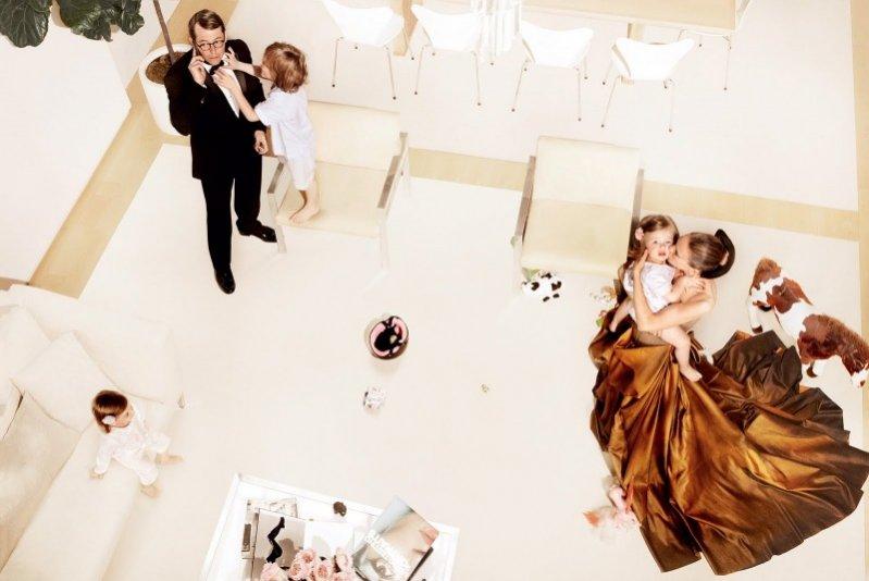 1. Sarah Jessica Parker, Vogue sierpień 2011