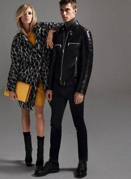 1. Anja Rubik i Clement Chabernaud w kampanii Gucci pre-fall 2014