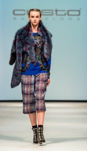 1. Pokaz kolekcji Custo Barcelona podczas Mercedes Benz Fashion Weekend Warsaw