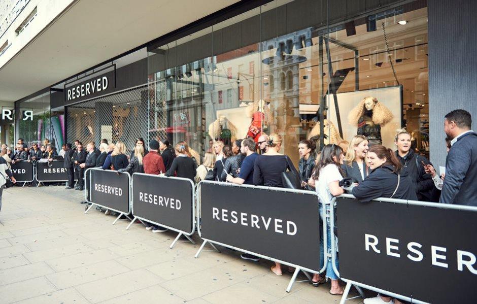 Otwarcie salonu Reserved w Londynie (1)