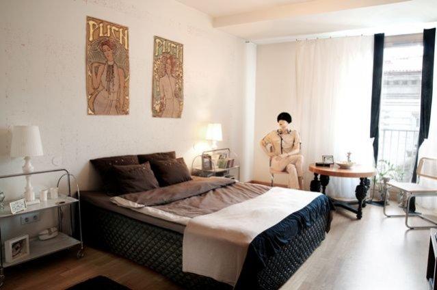 wnętrze apartamentu Plicha w Krakowie