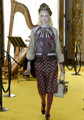 POLSKA NEW FACE W POKAZIE GUCCI RESORT 2018