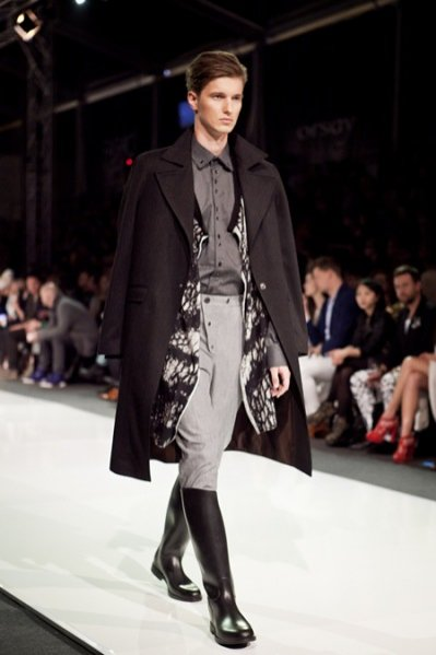 Fashion Week Poland Łódź kwiecień 2012 - pokaz kolekcji Ptaszek for Men na sezon jesień zima 2012