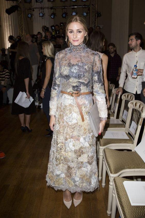 Modowe sztuczki: stylizacja Olivii Palermo z paskiem