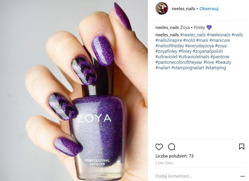 Manicure ultra violet