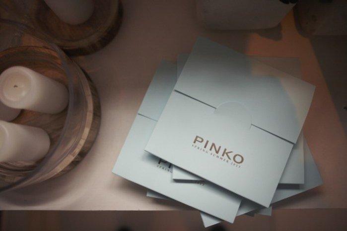 Pinko - prezentacja kolekcji wiosna lato 2013