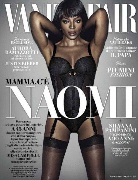 1. Bielizna I Am Naomi Campbell Yamamay w Vanity Fair