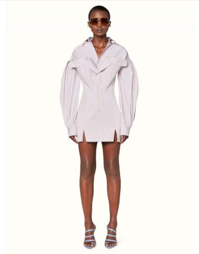 Koszulowa sukienka - pierwsza kolekcja Rihanna x LVMH