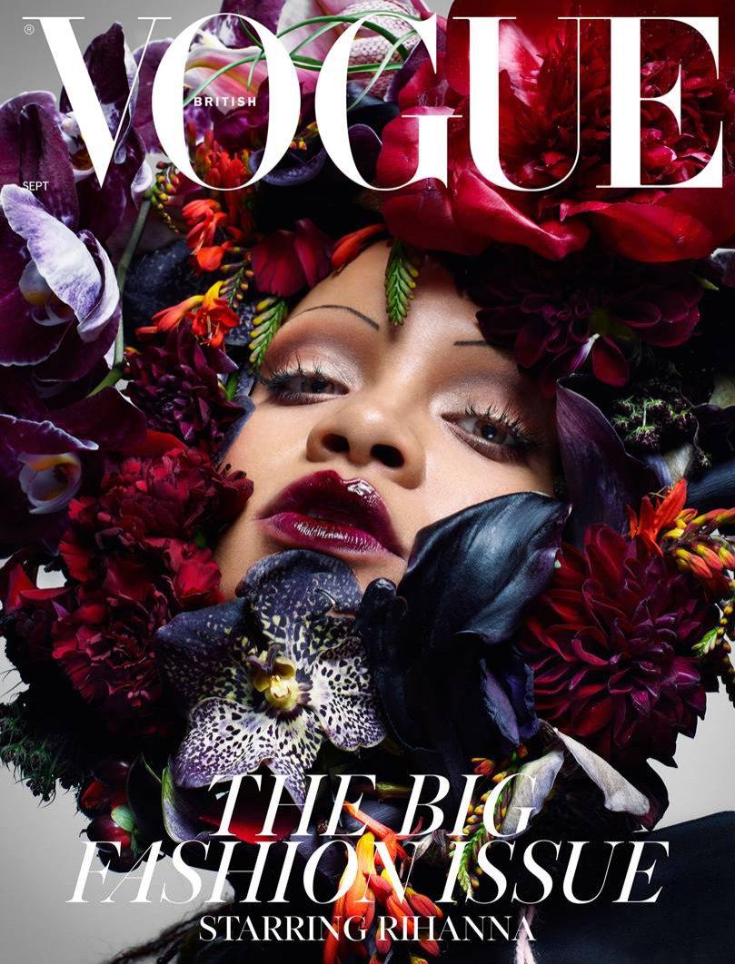 Rihanna w magazynie mody Vogue UK, wrzesień 2018