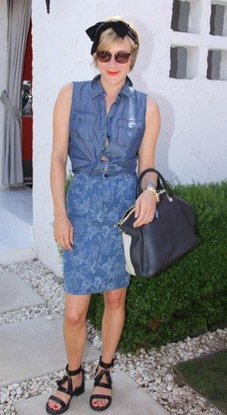 Chloe Sevigny Coachella Music Festival 2013
