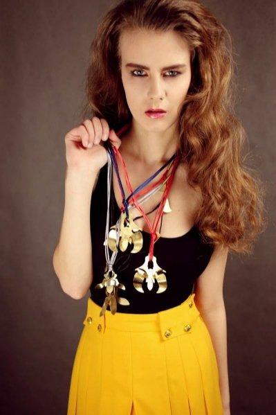 Kolekcja biżuterii ALE. Aleksandry Przybysz zatytułowana Floral