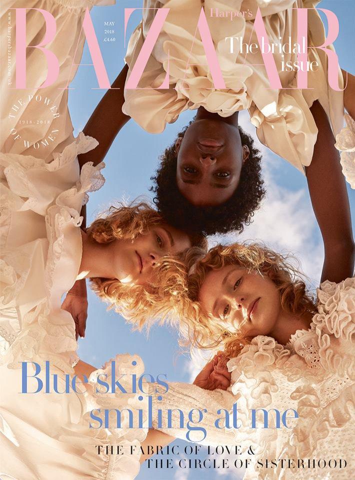 Harper's Bazaar, UK, maj 2018