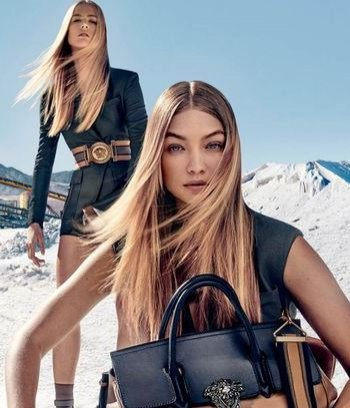 Kampania Versace na sezon wiosna lato 2016