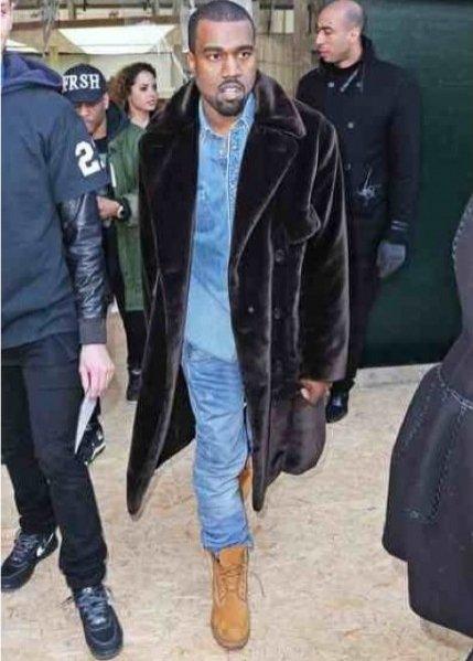 1. Kanye West - zoom na styl