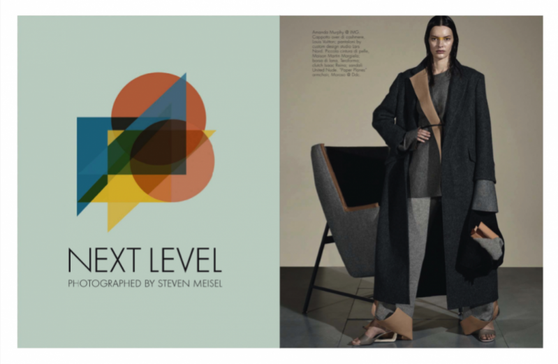 """Next Level"" - Steven Meisel dla Vogue Italia"