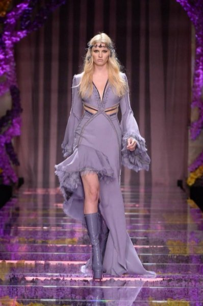 Pokaz Atelier Versace haute couture jesień zima 2015