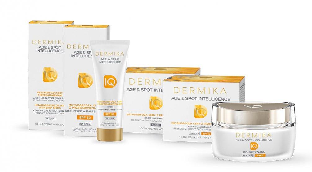 Linia kosmetyków na przebarwienia Dermika Age&Spot Intelligence