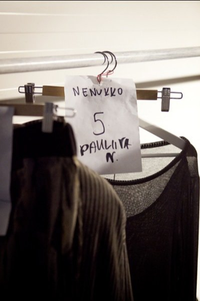 Fashion Week Poland 2012 -backstage przed pokazem Nenukko