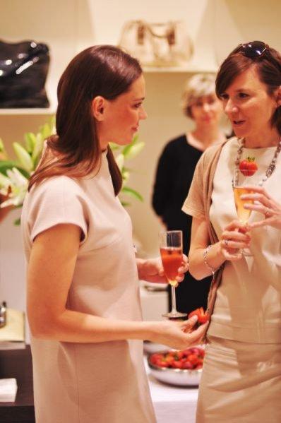 Aleksandra Nieśpielak na otwarciu butiku Deni Cler w Galerii Mokotów