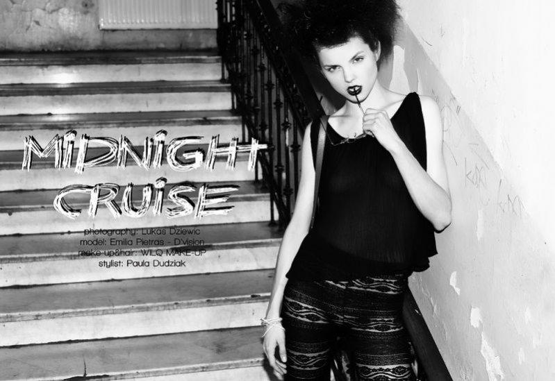 Emilia Pietras w sesji Midnight Cruise autorstwa Łukasza Dziewica