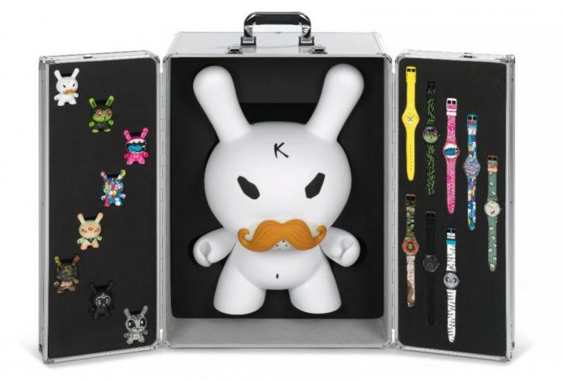 Kolekcja zegarków Kidrobot i Swatch