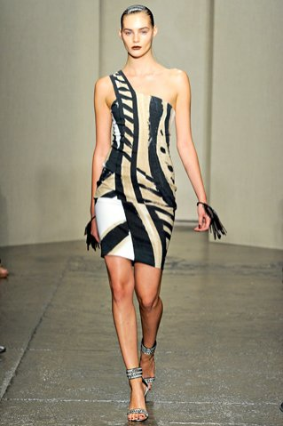 Donna Karan wiosna lato 2012
