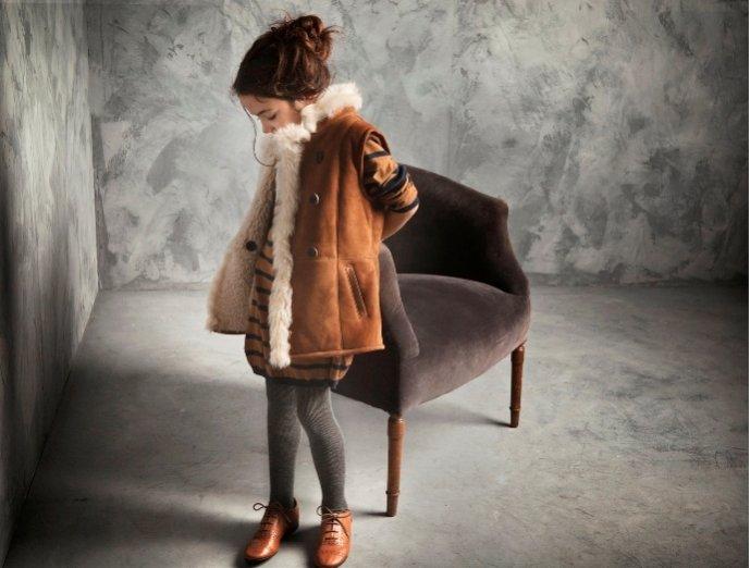 Kampania dziecięcej kolekcji Massimo Dutti Listopad 2011