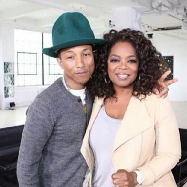 1. Pharrell Williams i Oprah Winfrey