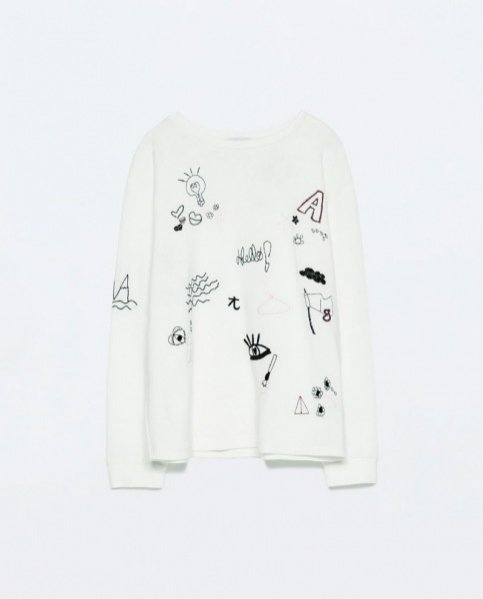 1. Bluza Zara, 119PLN