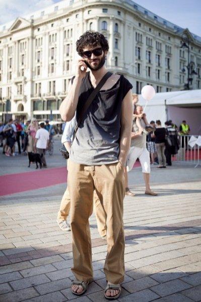 moda uliczna podczas Warsaw Fashion Street
