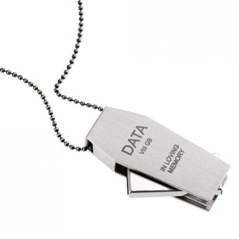 Naszyjnik ORSKA z 8GB pamięcią z kolekcji Memory - 420 PLN-