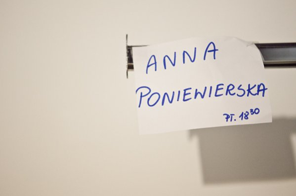 Anna Poniewierska wiosna lato 2013