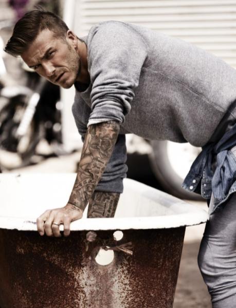 David Beckham w Esquire Magazine