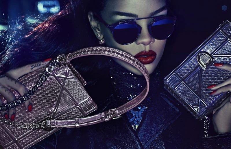 """1. Rihanna w kampanii Dior """"Secret Garden"""" 2015"""