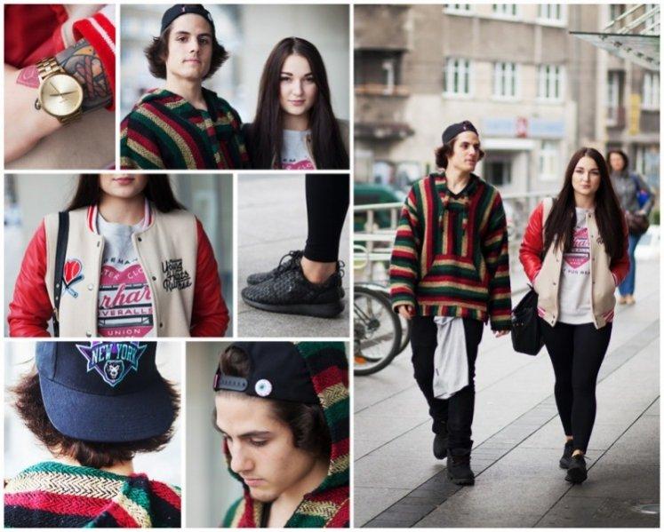 1. Przyłapani na modzie - moda uliczna w Galerii Krakowskiej
