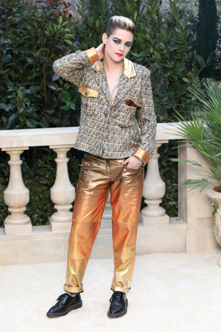 Kristen Stewart na pokazie CHANEL haute couture wiosna lato 2019