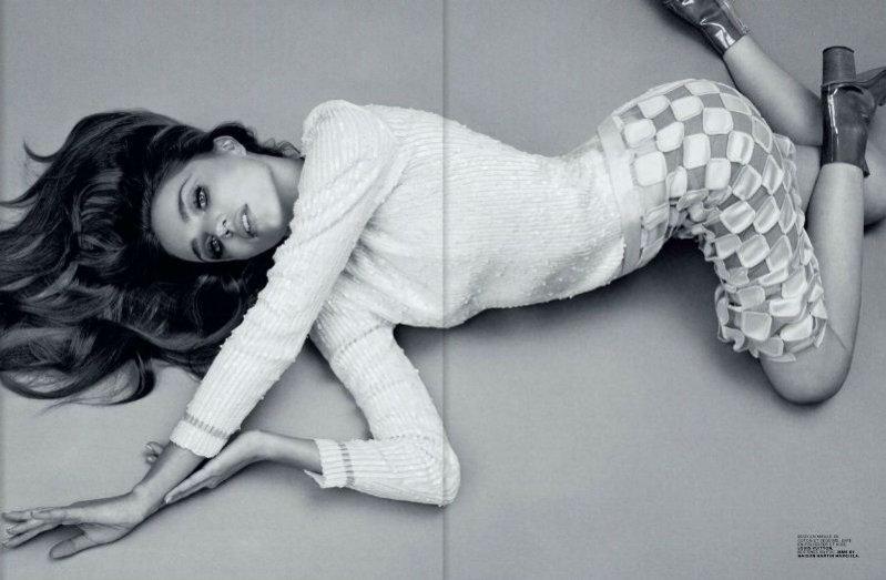 Miranda Kerr w lutowym Jalouse