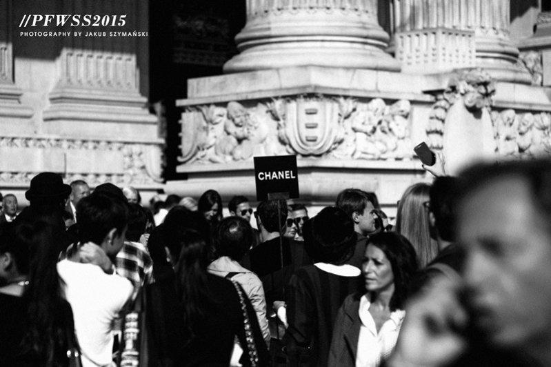 1. Kulisy Paris Fashion Week wiosna lato 2015