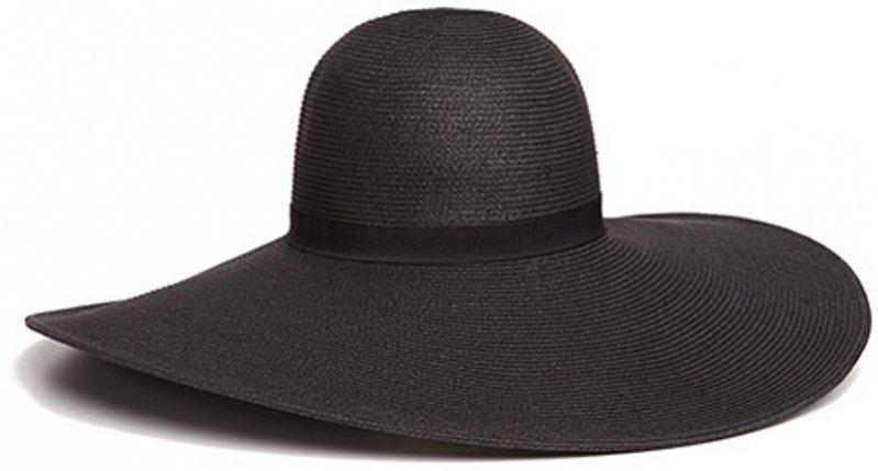 Czarny kapelusz z dużym, miękko opadającym rondem Reserved, 59,99 PLN