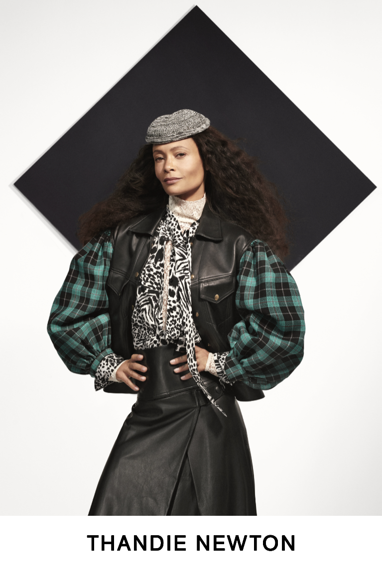 Louis Vuitton pre-fall 2019 (Thandie Newton)