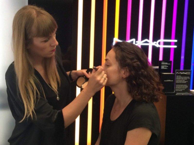 1. Ines Borgonjon, Senior Artist MAC Cosmetics