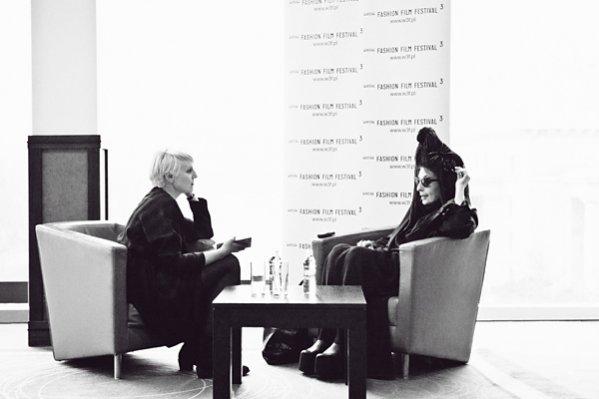 1. Diane Pernet - wywiad z twórczynią A Shaded View On Fashion Film