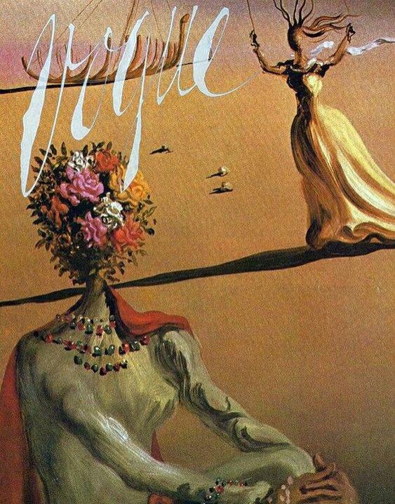 Salvador Dali: okładka Vogue'a (1939)