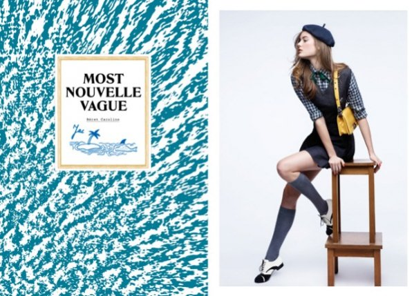 Kampania Maison Michel na sezon wiosna lato 2012 - Monika Jac Jagaciak