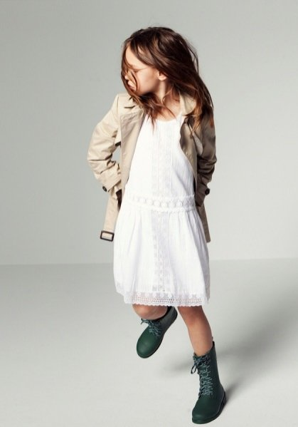 Lookbook kolekcji ZARA Girl kwiecień 2012